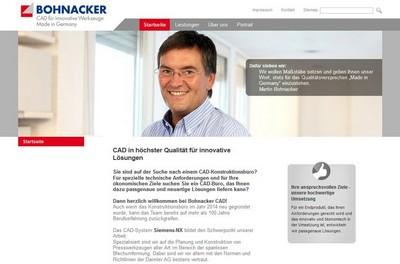 Screenshot von http://bohnacker-cad.de/