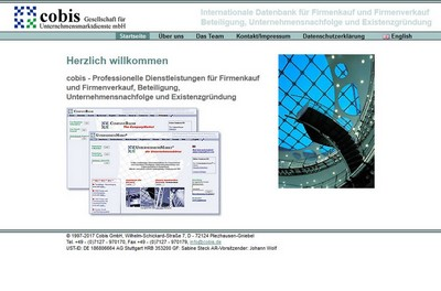 screenshot von http://cobis.de