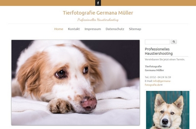Screenshot von http://germana-fotografie.de/