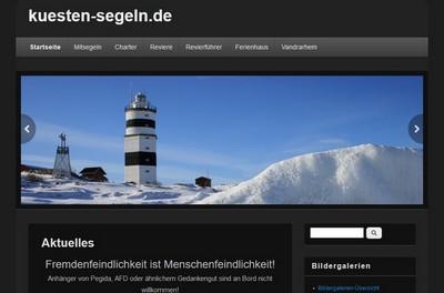 Screenshot von http://kuesten-segeln.de/