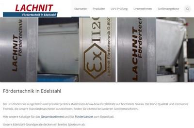 Screenshot von http://www.lachnit-foerdertechnik.de/
