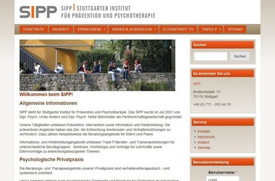 screenshot stuttgarter-institut.de