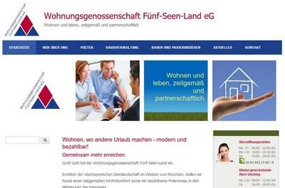 Wohnungsgenossenschaft Fünf-Seen-Land eG